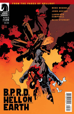 B.P.R.D.: Hell on Earth #135 (Mignola Cover)