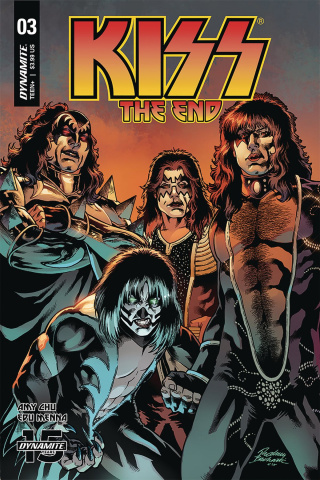 KISS: The End #3 (Buchemi Cover)