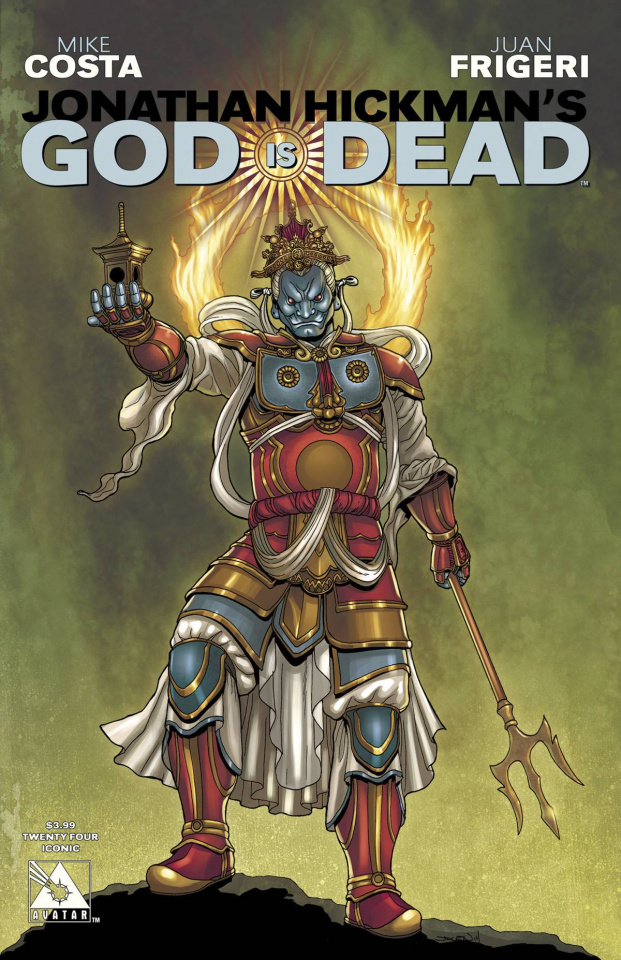 God Is Dead #24 (Iconic Cover)
