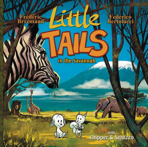 Little Tails in the Savannah Vol. 3