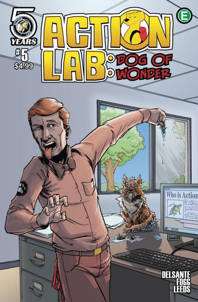 Action Lab: Dog of Wonder #5 (Peteranetz Cover)