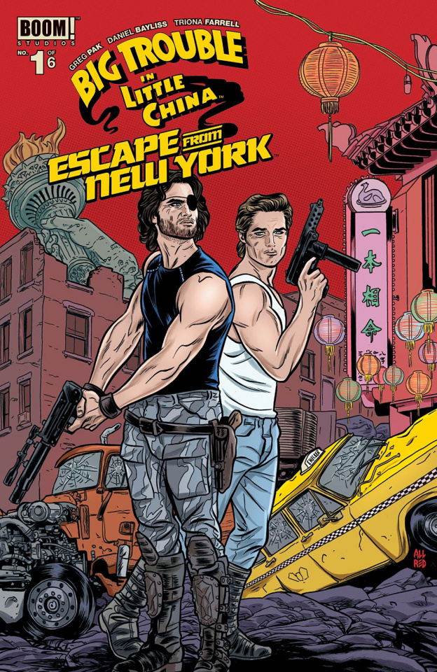 Big Trouble in Little China / Escape from New York #1 (Allred Cover)