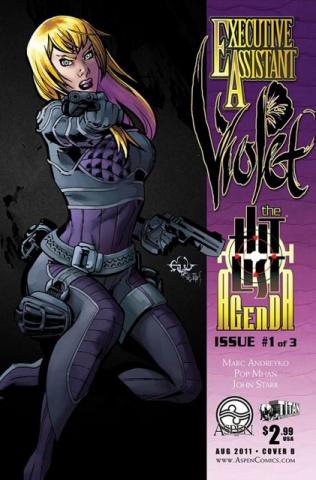 Executive Assistant Violet #1 (Francisco Cover)