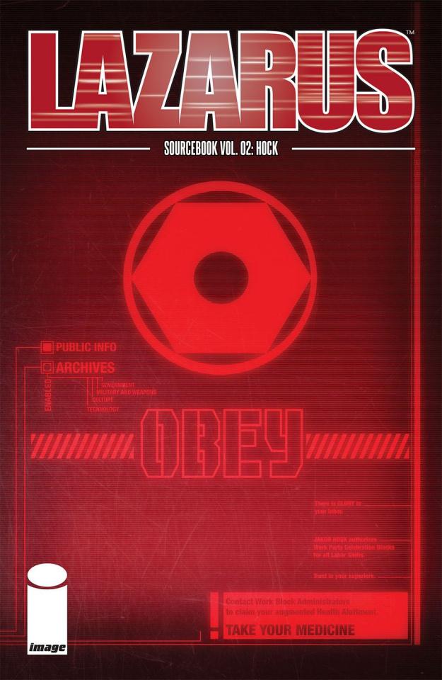 Lazarus: Sourcebook #2 (Hock Cover)