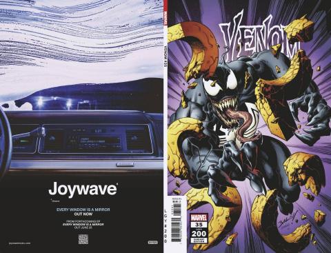 Venom #35 (Bagley 200th Issue Cover)
