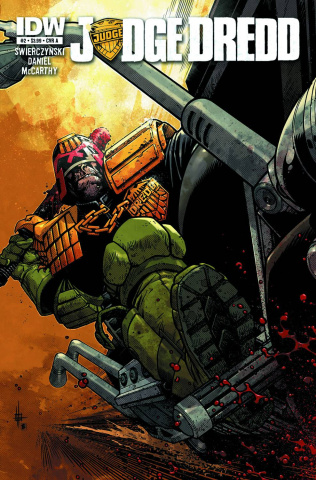 Judge Dredd #2 (50 Copy Cover)