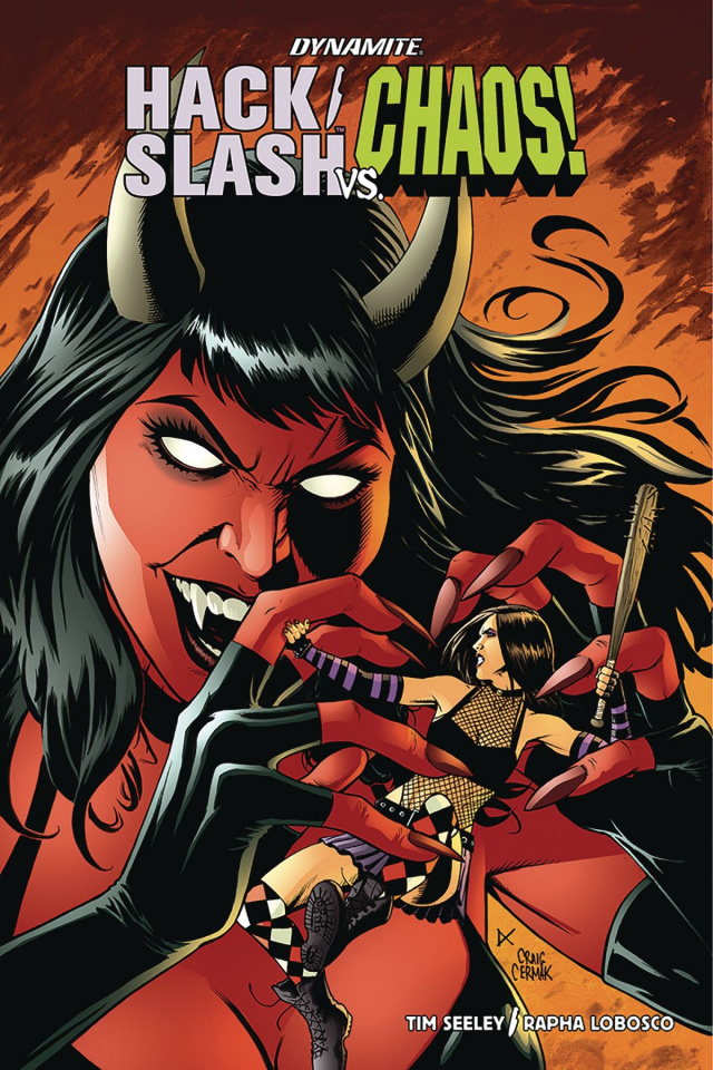 Hack/Slash vs. Chaos! #1 (Cermak Cover)