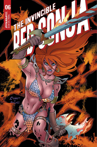 The Invincible Red Sonja #6 (Conner Cover)