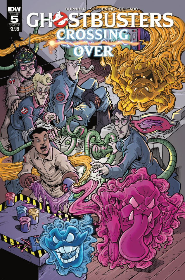 Ghostbusters: Crossing Over #5 (Lattie Cover)cal