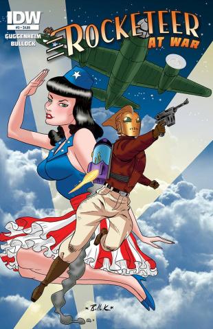 The Rocketeer At War #3