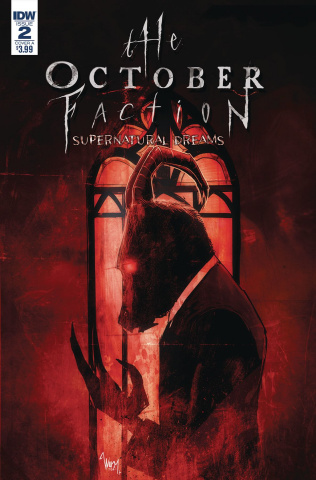The October Faction: Supernatural Dreams #2 (Worm Cover)