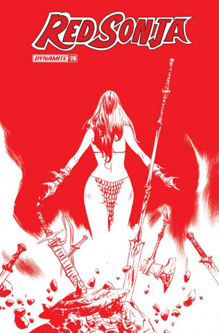 Red Sonja #26 (21 Copy Lee Tint Cover)