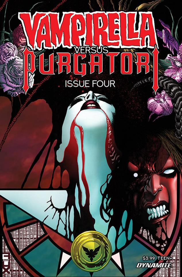 Vampirella vs. Purgatori #4 (Fox Cover)