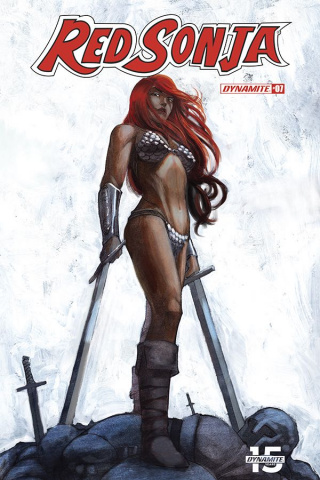 Red Sonja #7 (10 Copy Q Seduction Cover)