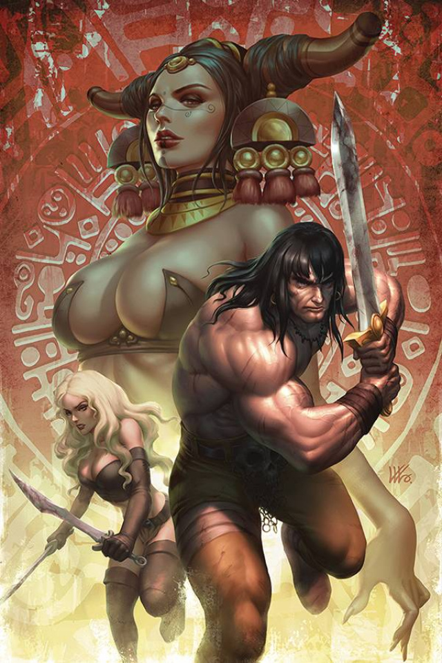 The Cimmerian: Red Nails #2 (Kendrick Lim Cover)