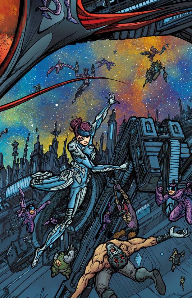 Rai #13 (20 Copy Interlock Mega Cover)