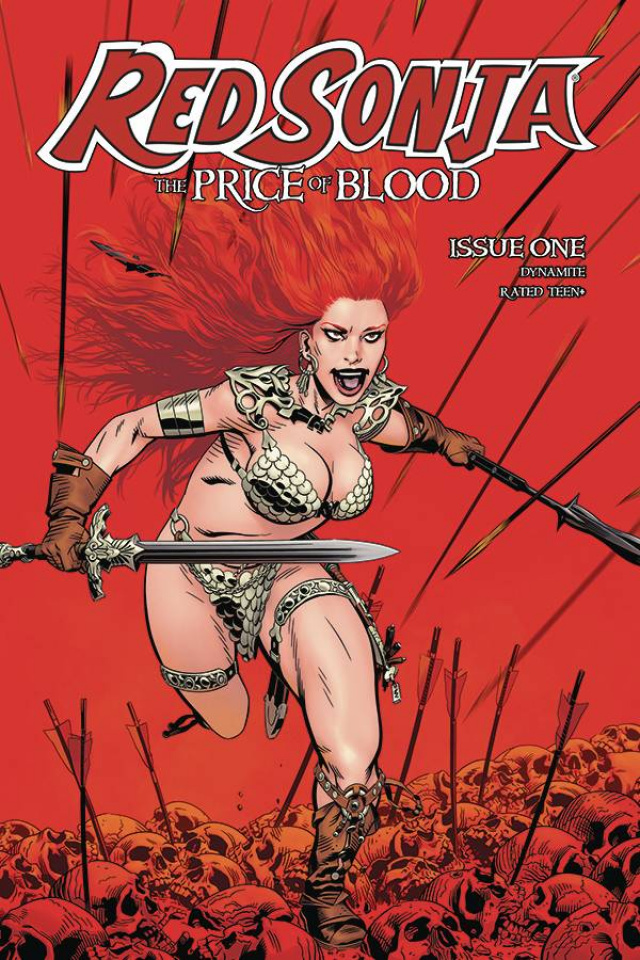 Red Sonja: The Price of Blood #1 (Golden Cover)