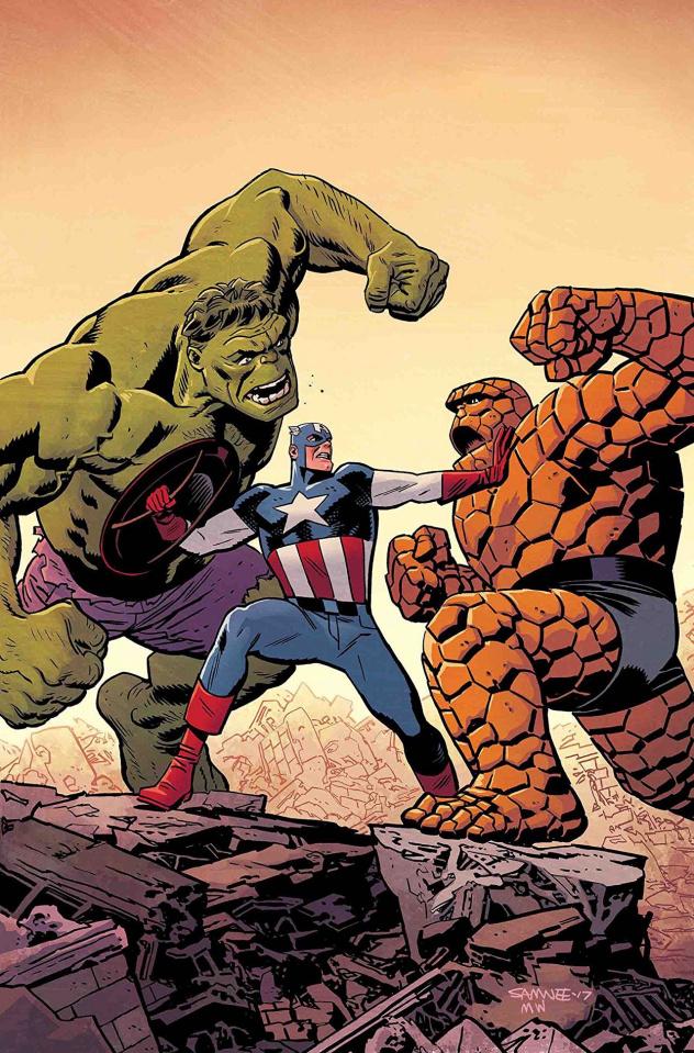 Captain America #699