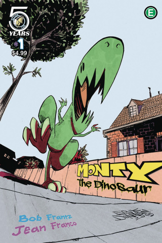 Monty the Dinosaur #1 (Donovan Cover)