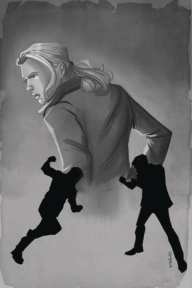 Nancy Drew & The Hardy Boys: The Death of Nancy Drew #3 (25 Copy Eisma Cover)