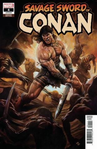 The Savage Sword of Conan #4 (Granov Cover)