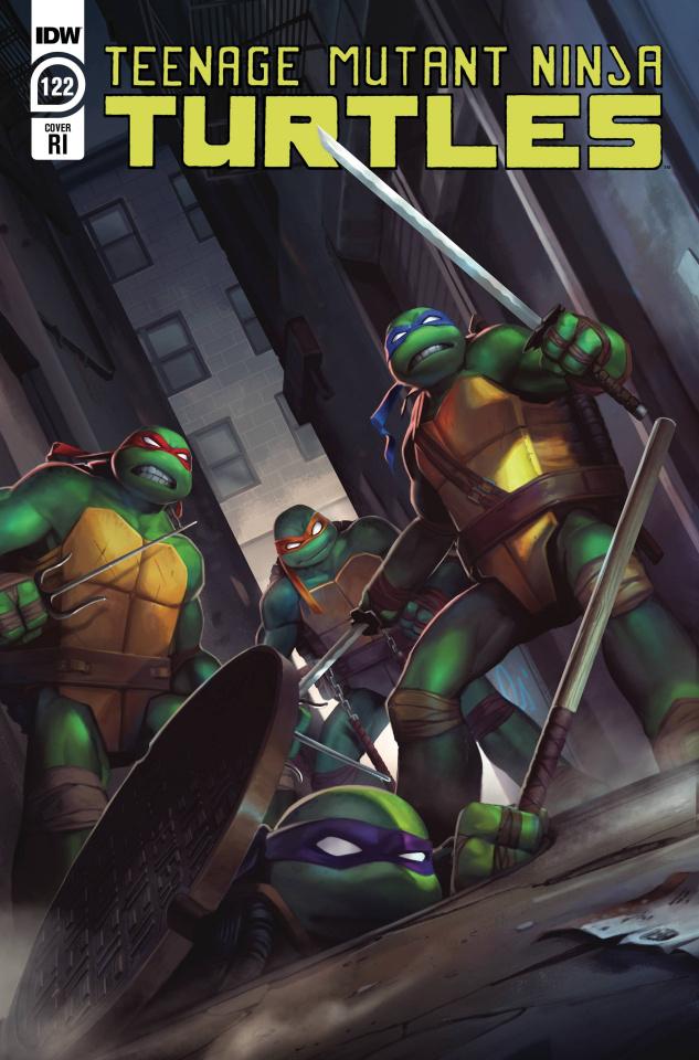 Teenage Mutant Ninja Turtles #122 (10 Copy Pitre-Durocher Cover)
