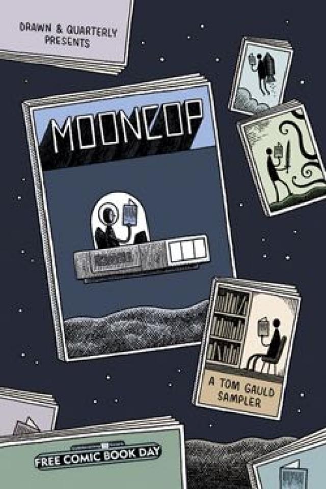 Mooncop: A Tom Gauld Sampler (FCBD 2016 Edition)