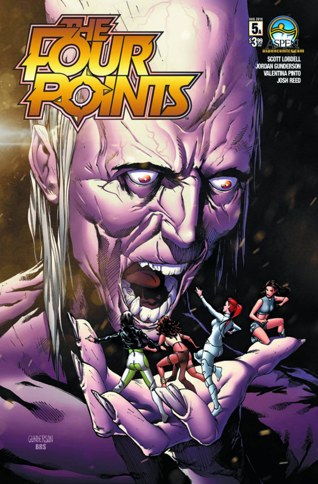The Four Points #5 (Direct Market Cover A)
