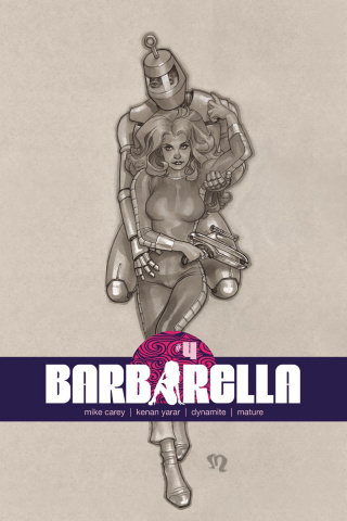 Barbarella #4 (10 Copy Roux B&W Cover)