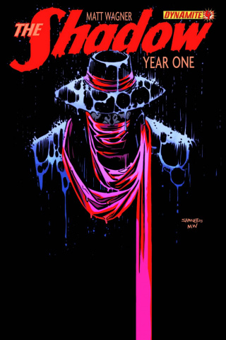 The Shadow: Year One #4 (Samnee Cover)