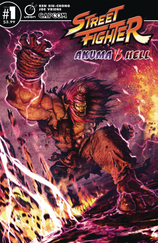 Street Fighter: Akuma vs. Hell #1 (Vriens Cover)