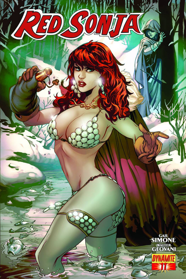 Red Sonja #11 (Lupacchino Cover)