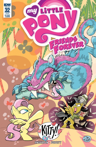 My Little Pony: Friends Forever #32 (Subscription Cover)