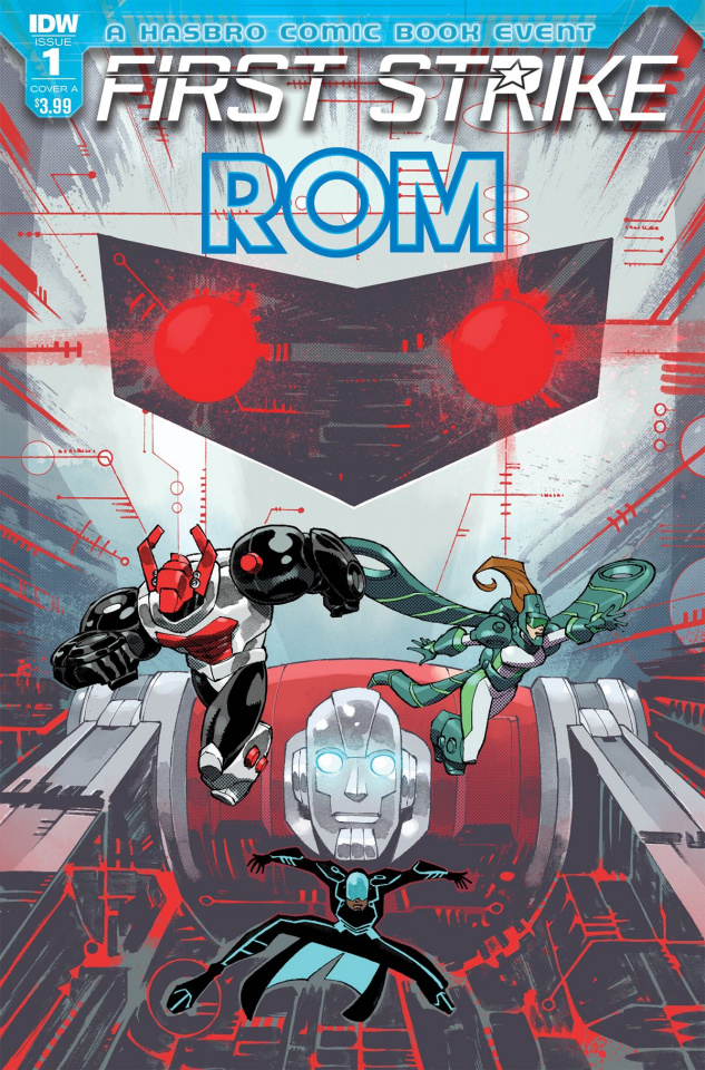 ROM: First Strike #1 (Daniel Cover)