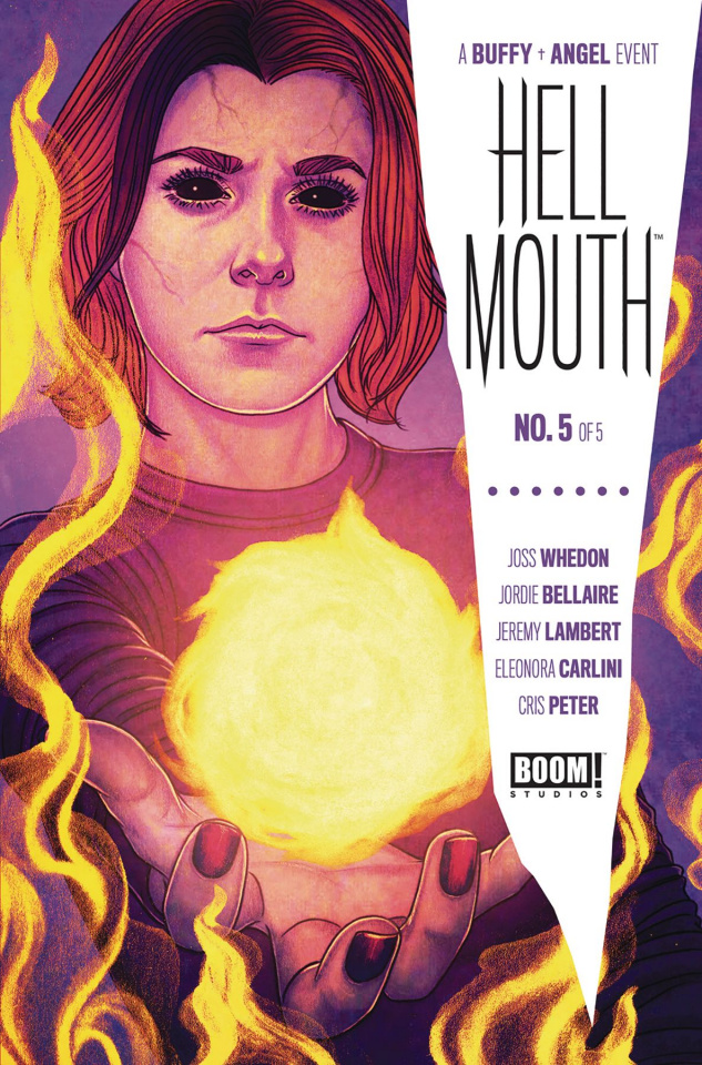 Buffy the Vampire Slayer / Angel: Hellmouth #5 (Frison Cover)