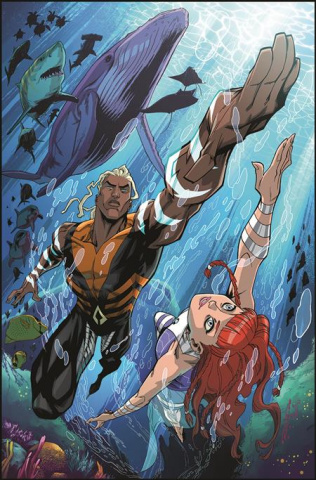 Future State: Aquaman #1 (Khary Randolph Card Stock Cover)