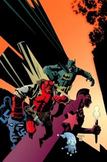 DC Comics / Dark Horse Comics: Justice League Vol. 1