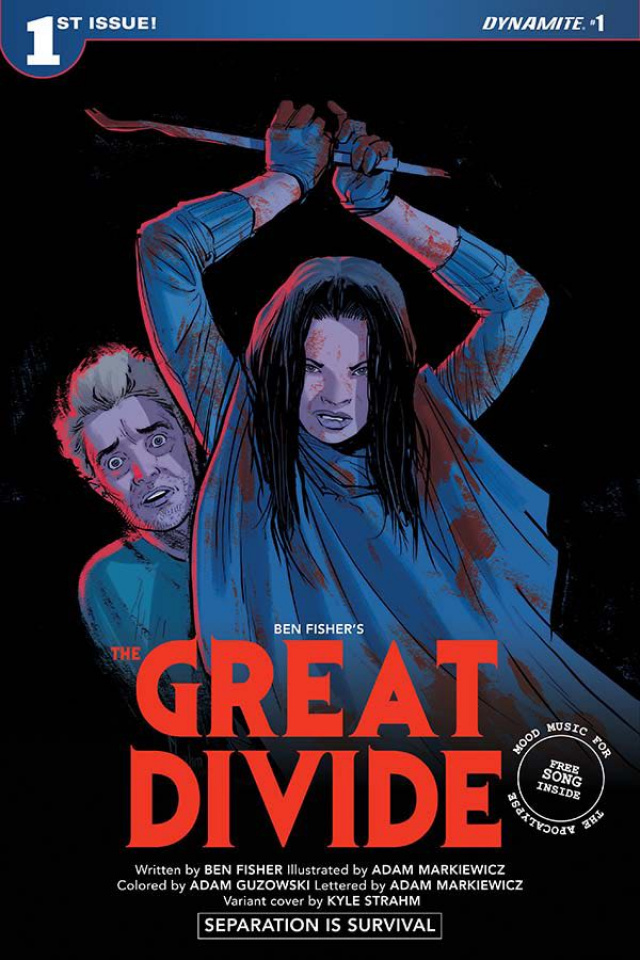The Great Divide #1 (Strahm Homage Cover)