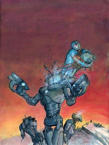 X-O Manowar #37 (10 Copy Pastoras Cover)