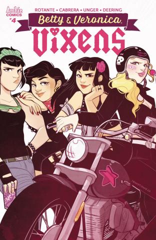 Betty & Veronica: Vixens #4 (St. Onge Cover)