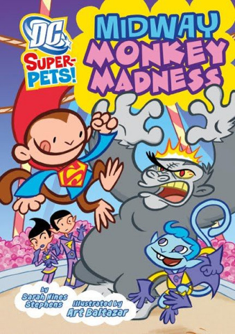 DC Super-Pets: Midway Monkey Madness