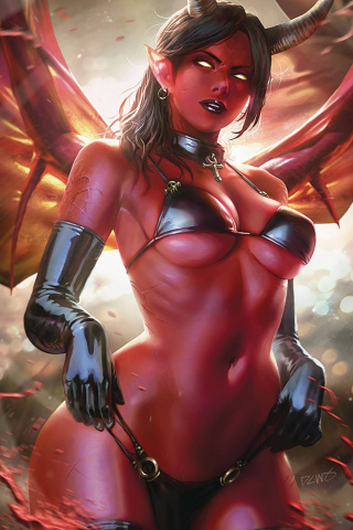 Red Sonja: Age of Chaos #4 (Chew Virgin Cover)