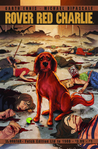 Rover Red Charlie #1 (Fetch Cover)