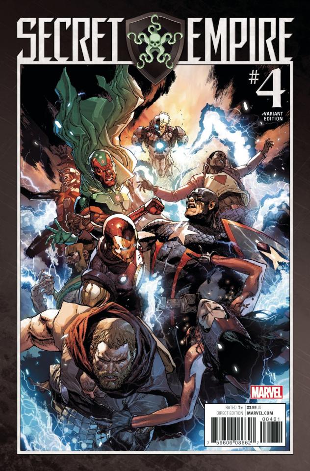 Secret Empire #4 (Leinil Yu Cover)