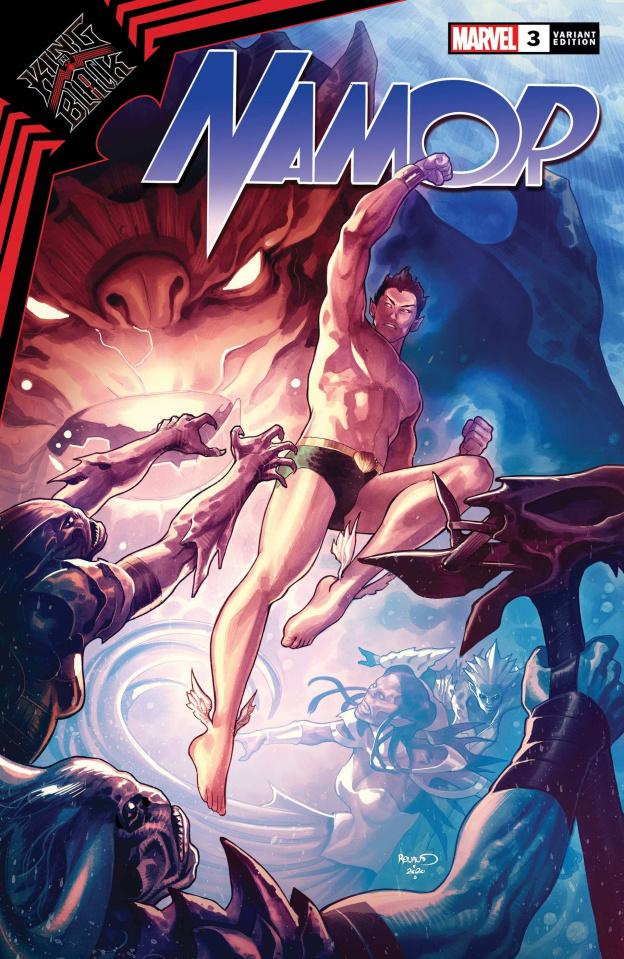 King in Black: Namor #3 (Renaud Cover)