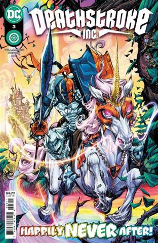 Deathstroke Inc. #3 (Howard Porter Cover)