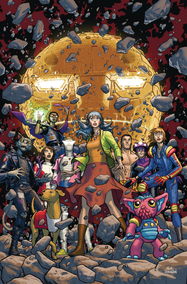 Doom Patrol: The Weight of the Worlds #7