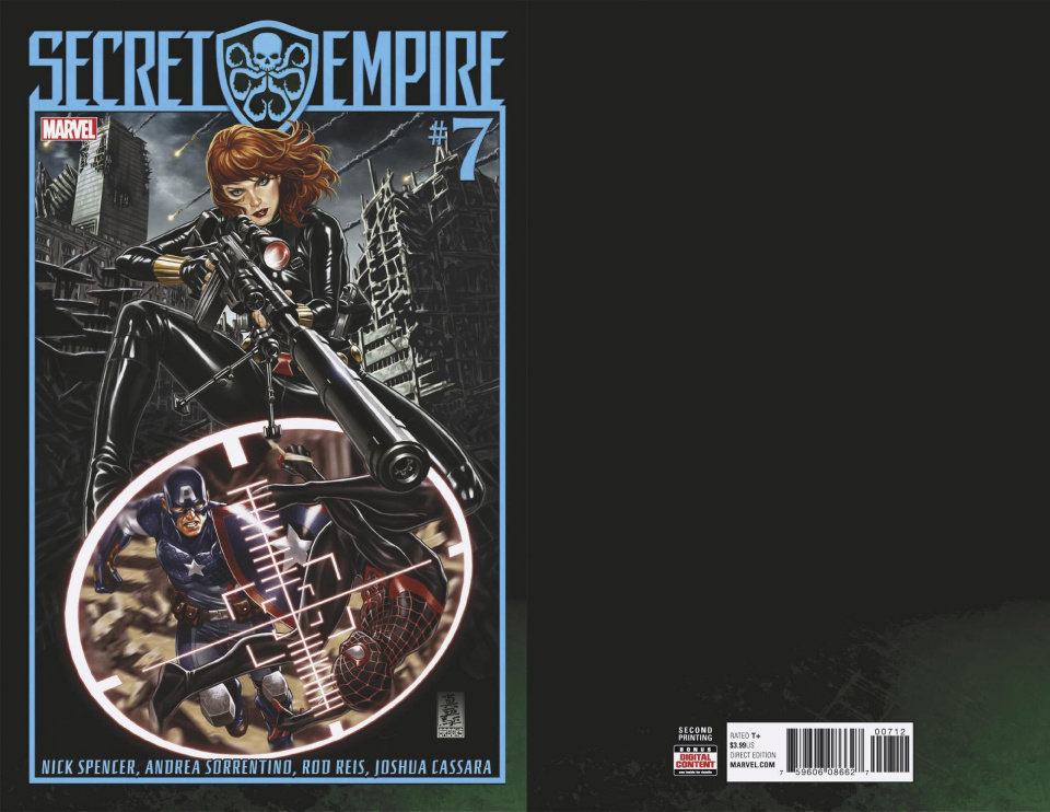 Secret Empire #7 (Brooks 2nd Printing)