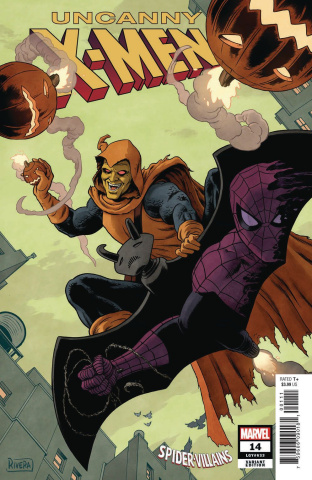 Uncanny X-Men #14 (Rivera Spider-Man Villains Cover)