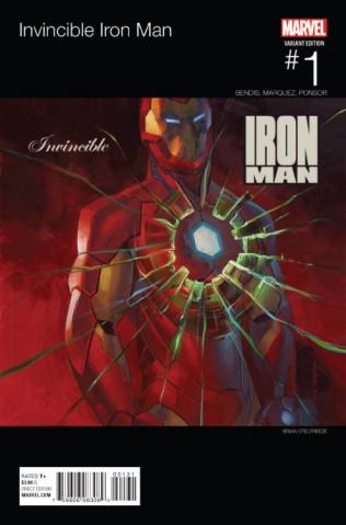 Invincible Iron Man #1 (Hip Hop Cover)